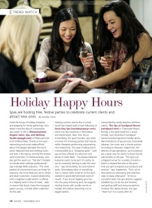 Trend Watch Holiday Happy Hours