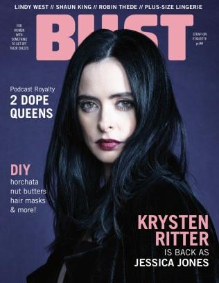 Bust FebMar18 Cover